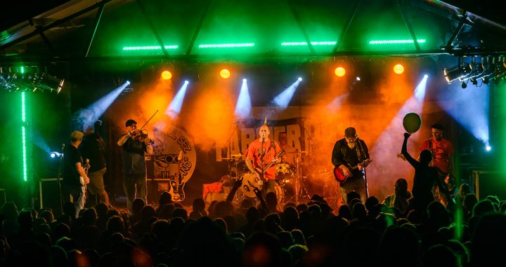 Ferocious Dog bring the house down at Farmer Phil's Festival 2016