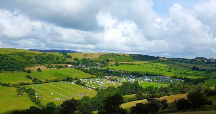 Farmer Phil's Festival camp site 2017